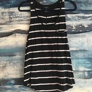 aritzia babaton striped tank with pocket